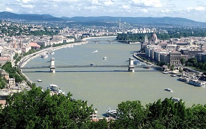 Rio Danúbio em Budapeste