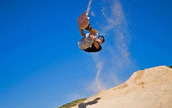 Sandboard - Praia dos Ingleses