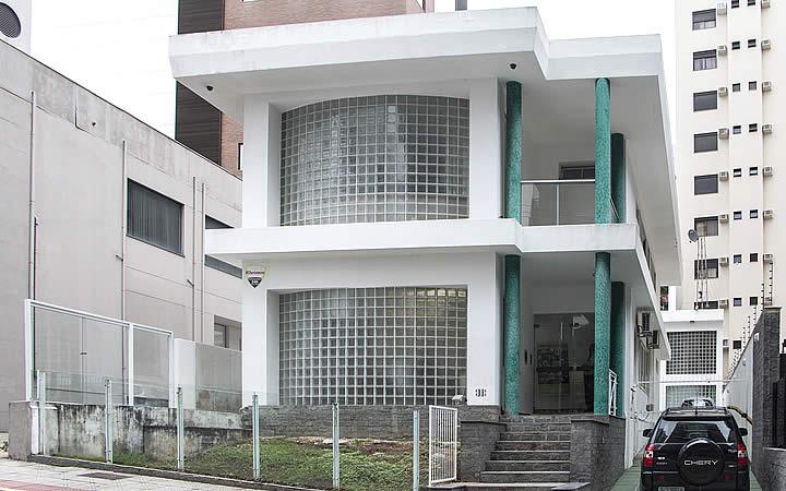 Sede temporária do Museu Victor Meirelles - Florianópolis