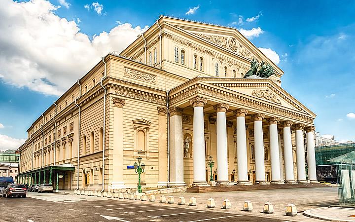 Teatro de Bolshoi - Moscou
