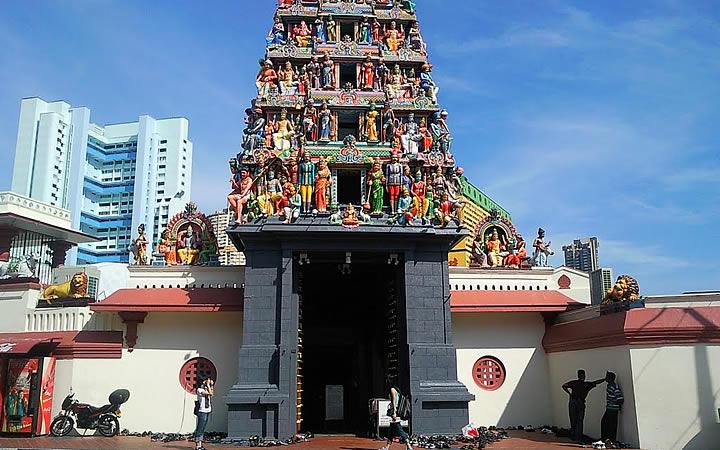 Templo Hindu em Singapura
