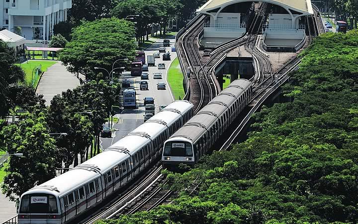 Transporte público em Singapura