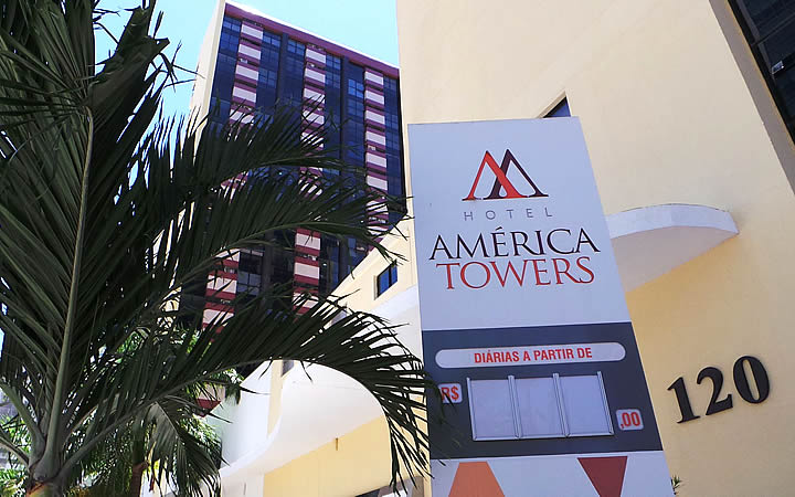 América Towers hotel - Salvador