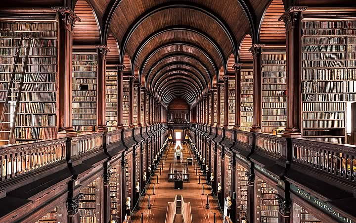 Biblioteca do Harry Potter em Dublin