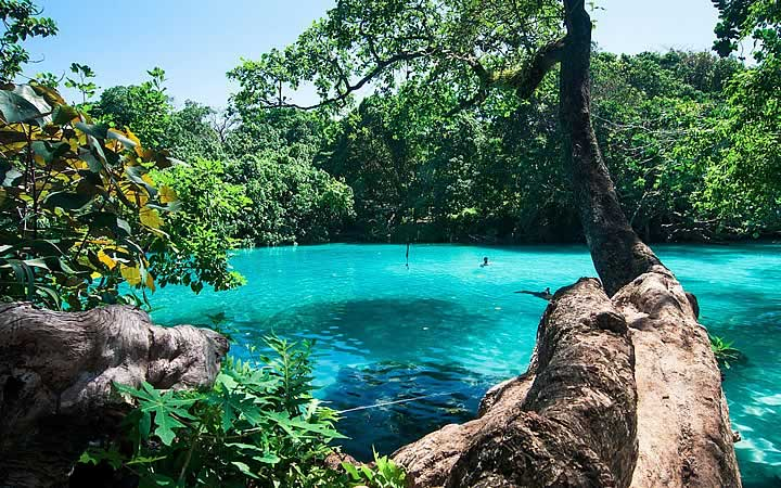 Blue Lagoon em Jamaica