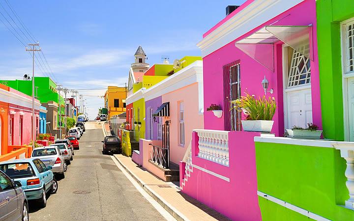 Bo-Kaap em Cidade do Cabo
