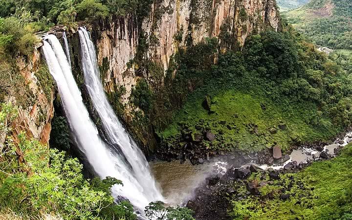 Cachoeira Salto do Apucaraninha em Londrina