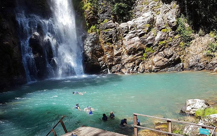 Cachoeira da Serra Azul em Nobres MT