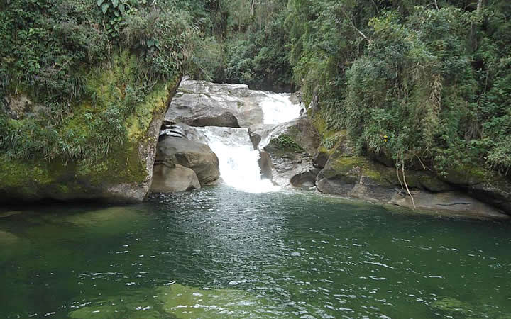 Cachoeira do Maromba em Itatiaia