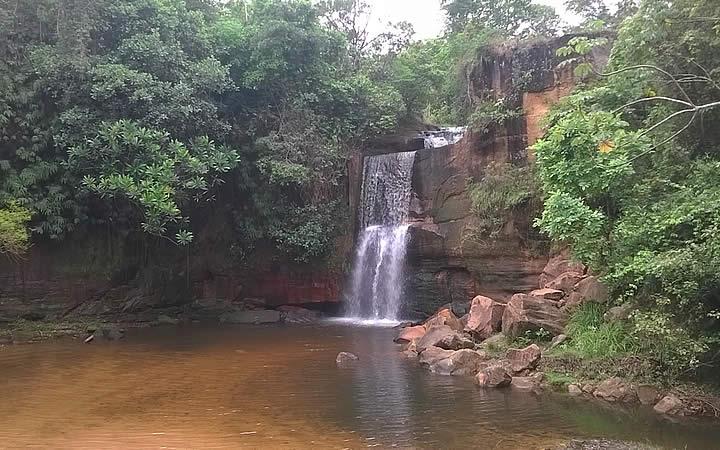 Cachoeira dos Namorados em Chapada dos Guimarães