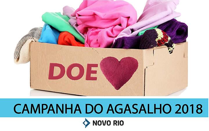 Campanha do Agasalho 2018 na Rodoviária Novo Rio