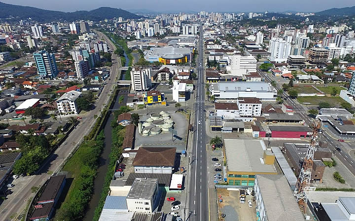 Cidade de Joinville - Drone