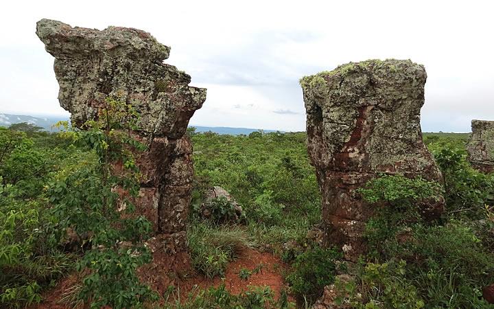 Cidade de Pedra em Chapada dos Guimarães