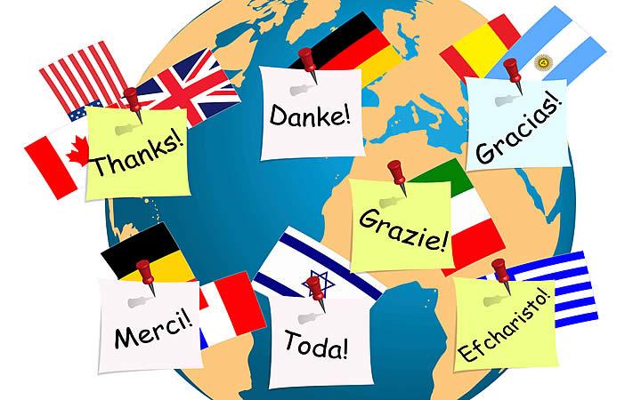 Conhecer o idioma, em viagens internacionais