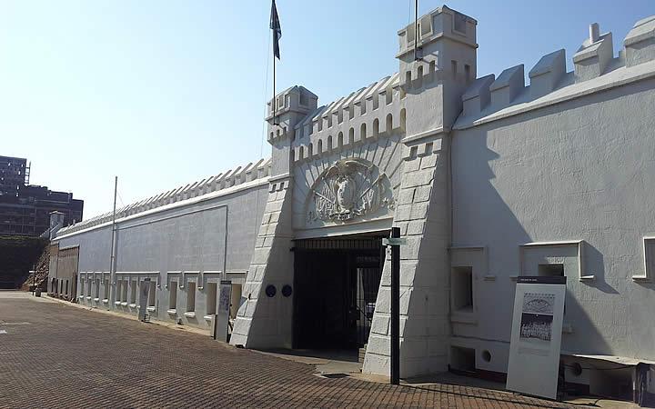 Constitution Hill em Joanesburgo