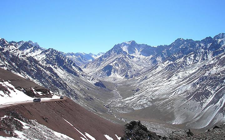 Cordilheiras dos andes - Argentina