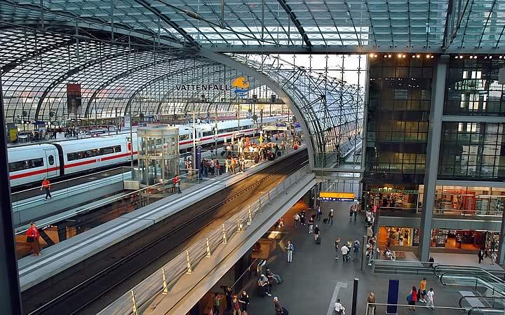 Estação Hauptbahnhof em Dublim
