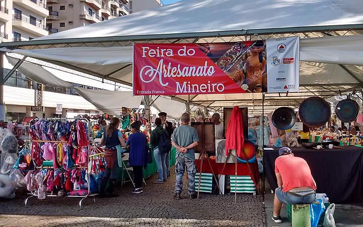 Feira de Artesanato em São Lourenço - MG