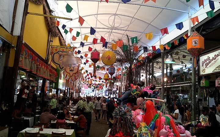 Feira de São Cristóvão - Barracas