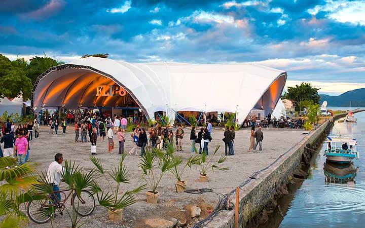 Flip - Feira Literária Internacional em Paraty - Local do evento