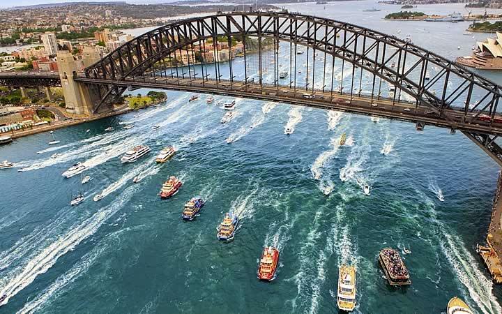 Harbour Bridge em Sydney