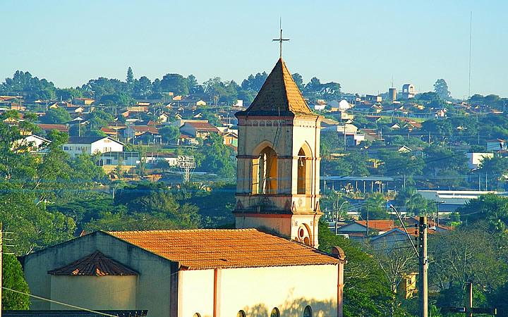 Igreja Católica em Brotas SP