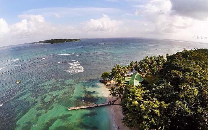 Isla carenero em Boca del Toro