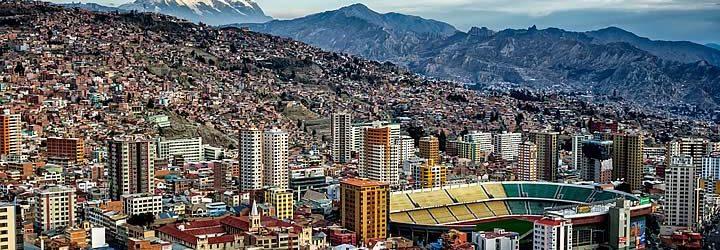La Paz na Bolívia