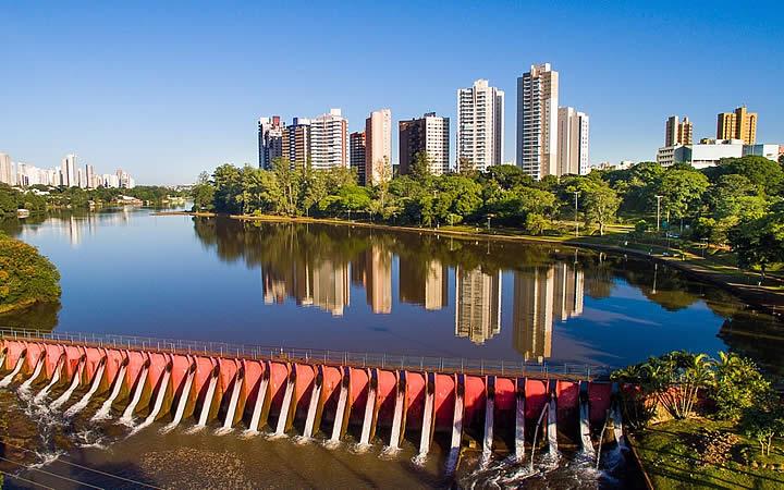 Lago Igapó em Londrina