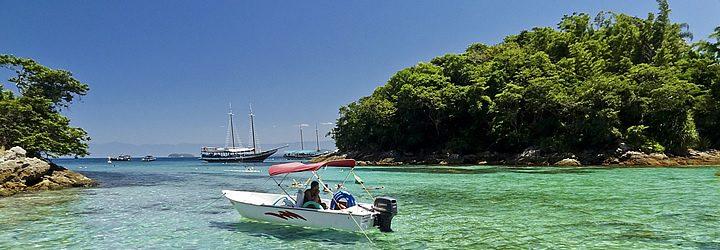 Lagoa Azul em Ilha Grande