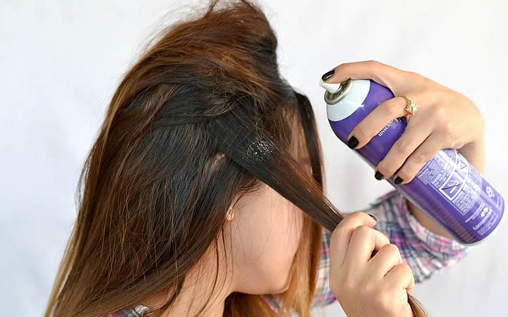 Laquê de cabelo - Coisas que não pode levar no avião