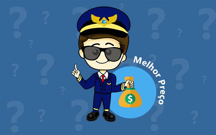 Melhor preço para viajar de avião - Transportal