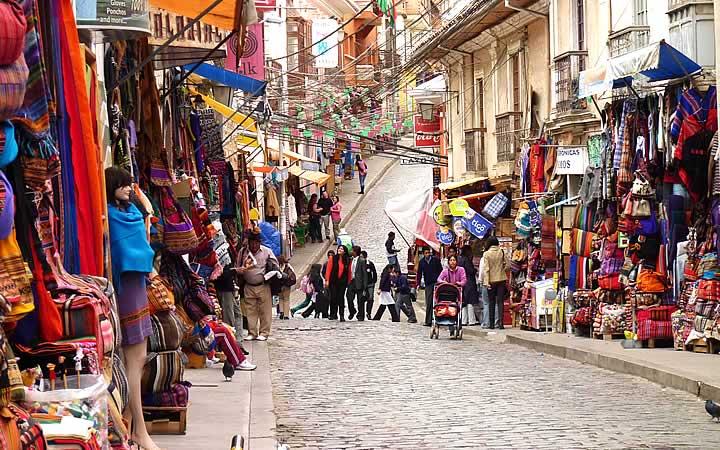 Mercado das bruxas - La paz - Bolívia