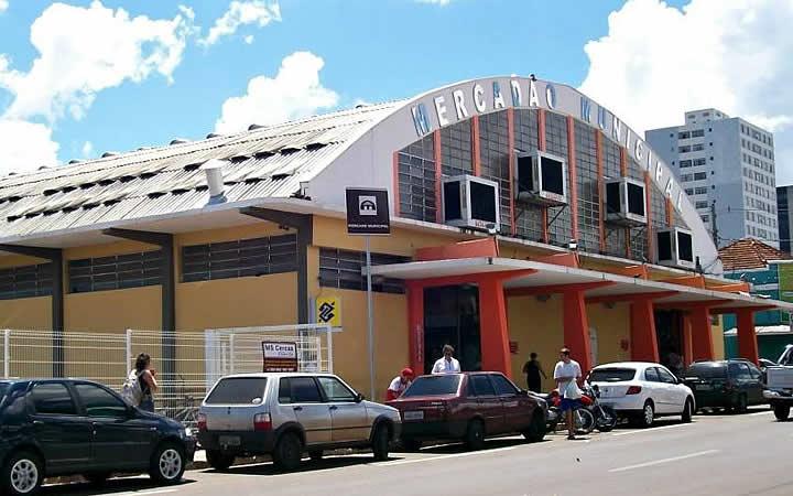 Mercado municipal de Campo Grande MS