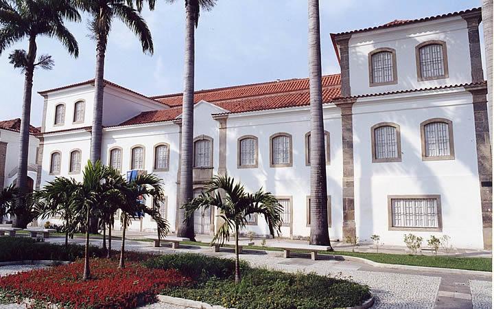 Museu Histórico Nacional no Rio de Janeiro