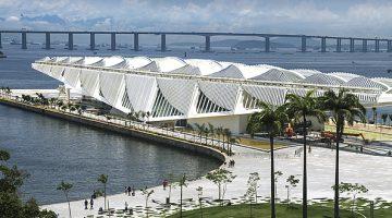 Museu do amanhã no Rio de Janeiro