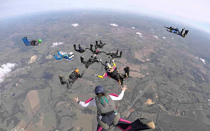 Paraquedismo em Boituva