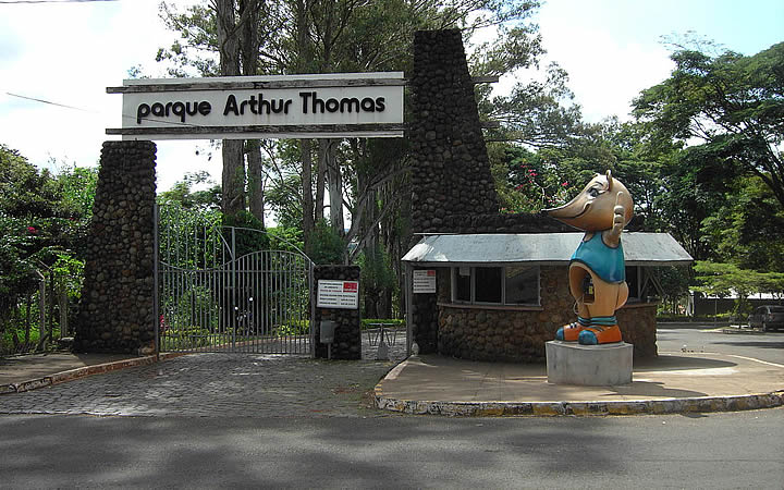 Parque Arthur Tomas em Londrina
