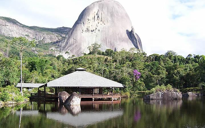 Parque Estadual da Pedra Azul em Domingo Martins