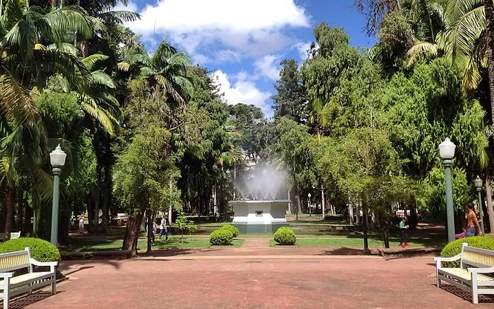 Parque José Affonso Junqueira em Poços de Caldas