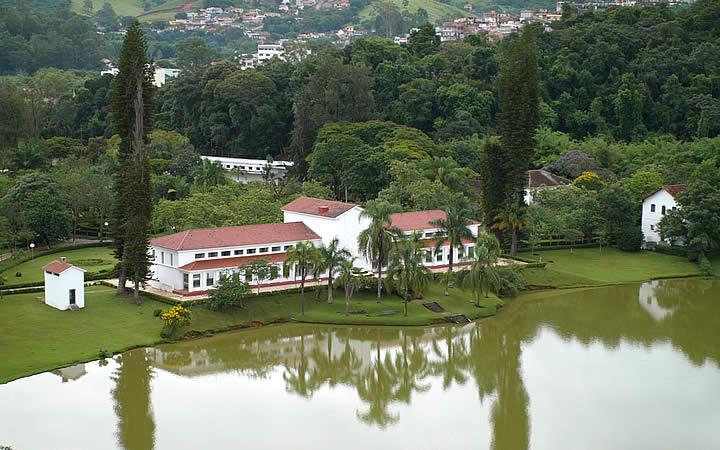 Parque das águas em São Lourenço - MG