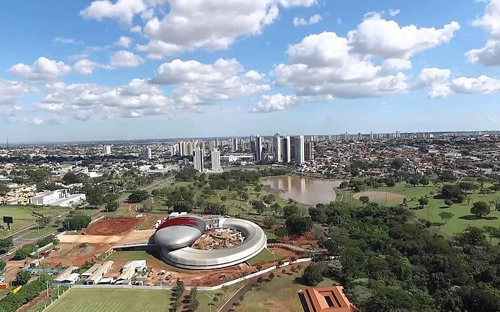 Parque dos poderes - Campo Grande MS