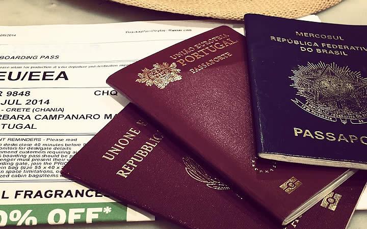 Passaportes - Conhecer a burocracia do local