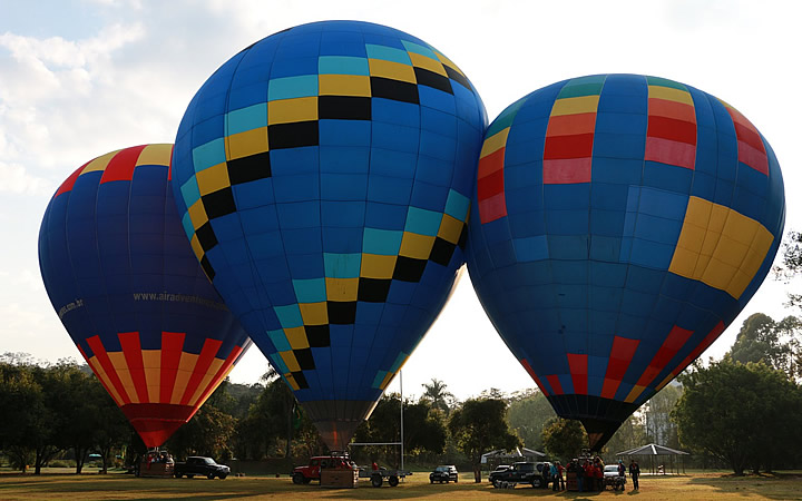Passeio de Balão - São Lourenço - MG