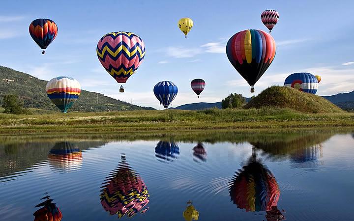 Passeio de Balão em Boituva SP