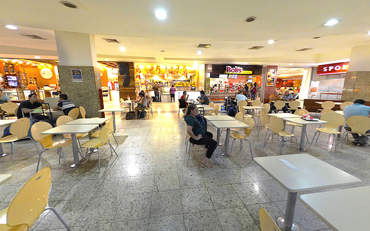 Praça de Alimentação da Novo Rio