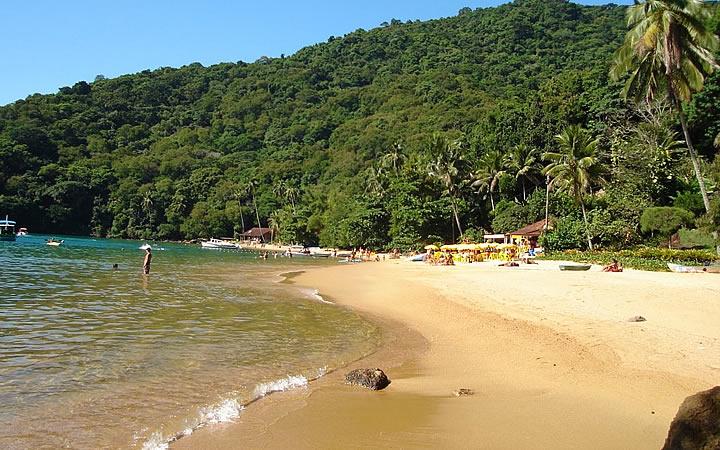 Praia do Abraãozinho em Ilha Grande