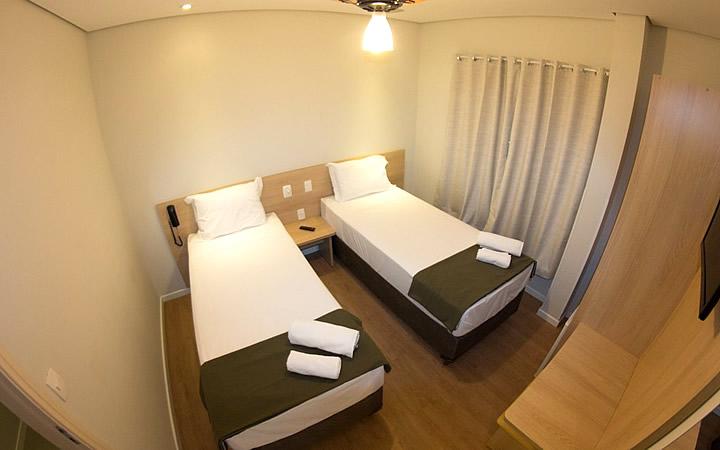 Quarto de hotel em Boituva