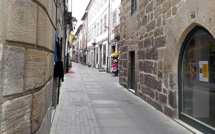 Rua direita - Viseu - Portugal