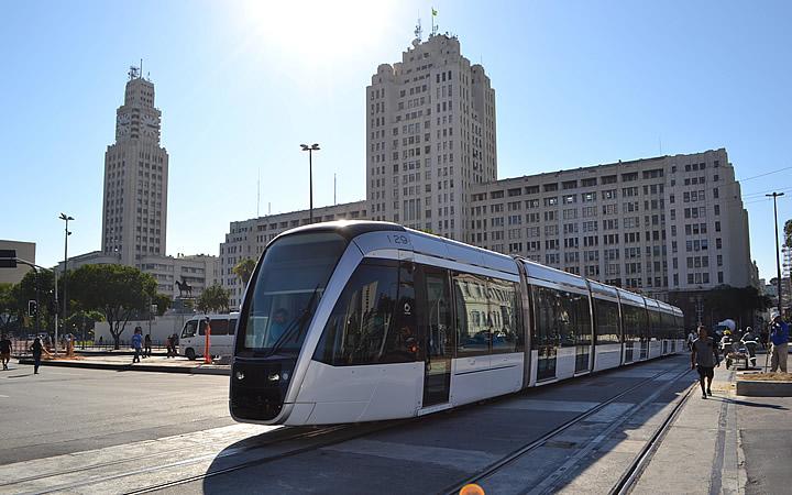 Transporte Público no Rio de Janeiro - VLT